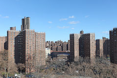Residencial area in New York, USA Stock Photography