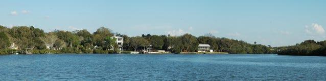 Residencias costeras Imagen de archivo libre de regalías