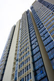 Resident apartment building Royalty Free Stock Images