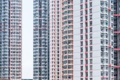 Resident apartment building Stock Photography