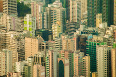Resident Building Hong Kong Royalty Free Stock Images