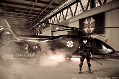 Resident Evil at Cartoomics 2014 Royalty Free Stock Images
