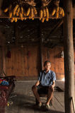 Resident  Of Miao Minority Royalty Free Stock Images