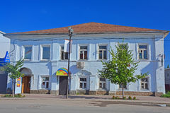 Residental ancient house in the centre of Kasimov city, Russia Royalty Free Stock Photography