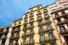 Residental building in Barcelona Royalty Free Stock Image