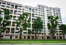 A residental building in Bugis, Singapore Royalty Free Stock Images