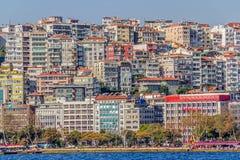 Residental Gebäude Istanbuls Stockfoto