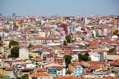 The residental neighborhoods of houses in the Besiktas region, I Stock Images
