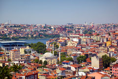 The residental neighborhoods of houses in the Besiktas region, I Stock Photos