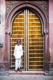 Residente di Bikaner, Ragiastan, India immagini stock libere da diritti