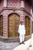 Residente di Bikaner, Ragiastan, India fotografia stock libera da diritti