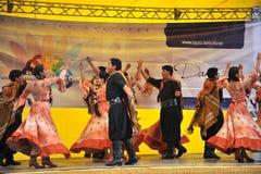 Residenti della città della nota di festa della città di La Paz Immagini Stock