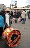 Residenti della città della nota di festa della città di La Paz Fotografia Stock Libera da Diritti