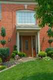 Residential 2-story brick home Royalty Free Stock Image