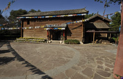 Residential. Some housing of the rural people in southern of China Royalty Free Stock Image