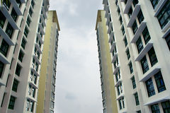 A residential apartment block Stock Images