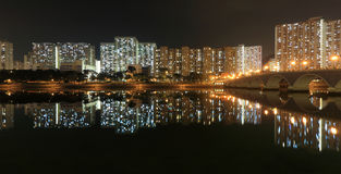 Residential Apartment Buildings in Hong Kong Stock Photography