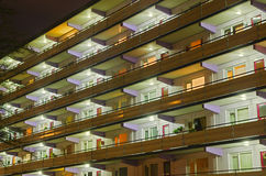 Residential apartments Stock Image