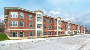 Residential Apartments Stock Photography