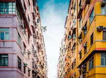 Residential aprtment in old district, Hong Kong, Asia Stock Photography