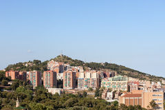 Residential Architecture in Barcelona Stock Images