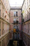 Residential architecture in Barcelona Stock Photo