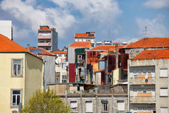 Residential Architecture in Porto Royalty Free Stock Image