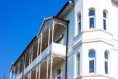 Residential Architecture in Ruegen Royalty Free Stock Photography