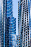 Residential architecture, South Loop. Royalty Free Stock Photography