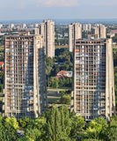 Residential area Stock Images