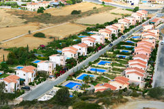 Residential area. In  Cyprus, horizontal picture Stock Image