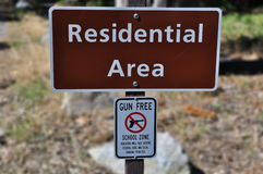 Residential Area Royalty Free Stock Photo