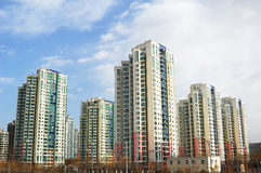 Residential area Royalty Free Stock Photography