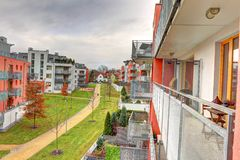 Residential area Stock Image