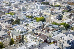 Residential area in big American city Stock Photos