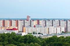 Residential area of Bratislava, Stock Image