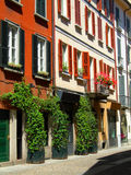 Residential area Brera Milan Italy Royalty Free Stock Images