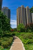 Residential area in Chinese cities Royalty Free Stock Images