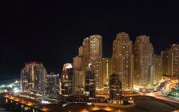 Residential area. Dubai. Dubai-marina bay. Canon 5DmarkII Stock Photos