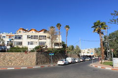Residential area in Eilat, Israel Stock Photo