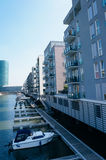 Residential area in Frankfurt Stock Photography