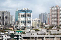 Residential area of Guangzhou Royalty Free Stock Photo
