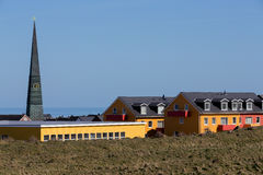Residential area in Heligoland Royalty Free Stock Image