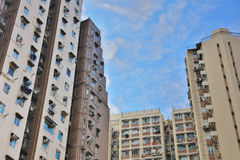 The residential area, Hong Kong. Stock Photography