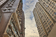 The residential area, Hong Kong. Stock Images