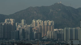 Residential area in Hong Kong Stock Photos