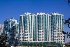 Residential area. Krasnodar Stock Image