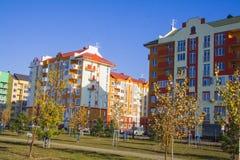 Residential area. Krasnodar Stock Photo