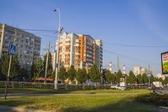Residential area. Krasnodar Royalty Free Stock Photography