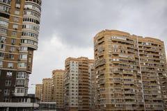 Residential area. Krasnodar Royalty Free Stock Image